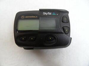 Motorola Pager FLEX Pagefinder Page Finder A06ATB5806BA  with belt case
