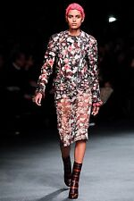 New Givenchy Floral Wool Runway Biker Jacket - RRP £2970