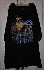 John Cena WWE Raw Black T-Shirt Short Sleeve 2007 Wrestling 2XL