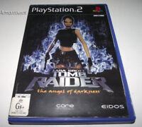 Lara Croft Tomb Raider Angel of Darkness PS2 PAL *Complete*