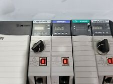 Used  Allen Bradley Logix5583E  SET  FREE EXPEDITED SHIPPING