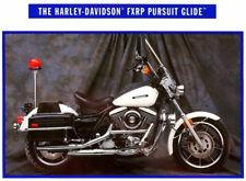 1992 HARLEY-DAVIDSON FXRP POLICE PURSUIT GLIDE MOTORCYCLE BROCHURE -FXRP