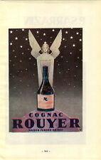 """ADVERTISEMENT """" Mini Poster """" Vineyard Wine Cognac Rouyer P Sarrazin Jarnac"""