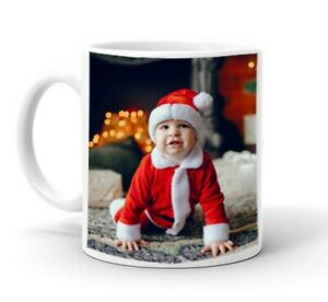 New Personalised Photo Mug Cup Custom Printed With You're Picture or text