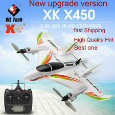 WLtoys XK X450 RC Glider 2.4G 6CH 3D/6G Brushless Helicopters Vertical Takeoff❤B