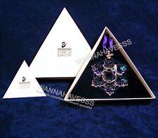 SWAROVSKI 1996 annual snowflake ornament mint in box !