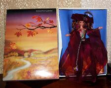 Autumn Glory Barbie Doll Enchanted Season Collection 1995 Mattel #15204 NRFB COA