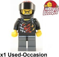 LEGO world racers-Official 2 personnage conducteur racer Orange coureur personnages NEUF