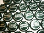 SIERRA NEVADA Beer Bottle Caps 50 - Dark Green color