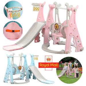 Playground Swing Set Kids Slide Play Center Baby Toddler Indoor Outdoor Toy Gift