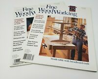 Fine WoodWorking Magazine 2000 (2) Issues 140-141