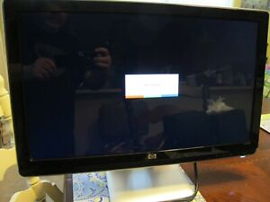 """HP 2310m 23"""" Wide Screen Flat Panel LCD Monitor 1920 x 1080 Works"""