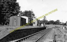 Ciliau Aeron Railway Station Photo. Aberayron - Felin Fach. Lampeter Line. (1)