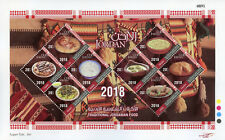 Jordan 2018 MNH Traditional Jordanian Food 8v M/S Foods Gastronomy Stamps