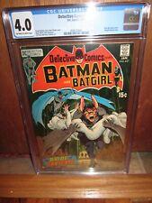 DETECTIVE COMICS #407 CGC 4.0 DC Comics 1/1971 MAN-BAT BATGIRL NEAL ADAMS