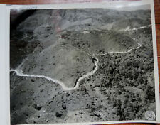 WWII PHOTO - AERIAL VIEW of 1st TRUCK CONVOY FROM INDIA TO CHINA LEDO BURMA ROAD
