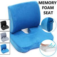 Lumbar Support Pillow Seat Chair Back Cushion Memory Foam Ergonomic Orthopedic