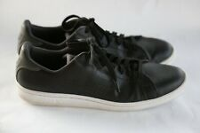 Puma Smash Perf C Classic Sneakers, Shoes, Leather, Men's, Black, Size 12