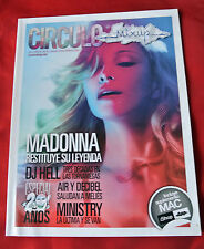 Madonna Circulo Mixup April 2012 Mexico Import Celebrity Magazine NEW
