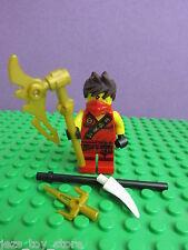 Genuine LEGO Ninjago Kai ROSSO minifigura SERIE 251 ARMI NINJA