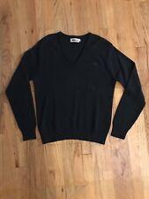 WINONA KNITTING MILLS USA 100% Wool V-neck SWEATER L