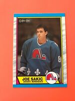 Joe Sakic O-Pee-Chee Rookie Hockey Card 1989-90 #113