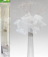 """Fiber Optic Floral Light Spray Clear 15"""" Wedding Flower Arrangement Centerpiece"""