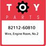 82112-60810 Toyota Wire, engine room, no.2 8211260810, New Genuine OEM Part