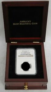 AMERICAN MOST BEAUTIFUL COIN SLAB WOODEN DISPLAY BOX (NO COIN)
