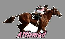 Affirmed Decal  full color print with die cut