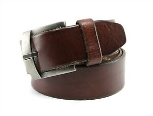 FOSSIL Brown Genuine Leather Belt Size 36/90 MB125020036