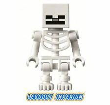 LEGO Minifigure - White Skeleton - Minecraft minifig min011 FREE POST