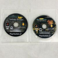 SOCOM Playstation 2 Game Lot Combined Assault + 3 US Navy Seals PS2 Disc Only