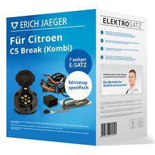 Elektrosatz 7-pol. spez. für Citroen C5 Break II RE 09.04-02.08 EBA Erich Jaeger