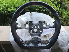 2005-2013 Corvette C06 Z06  OEM D-Cut Carbon Fiber Steering Wheel with Leather