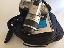 Camera Minolta Maxxum 4  Zoom 28-80 Film 24*36 35mm Bag Tested Targus Excellent