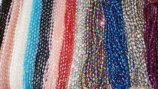 JOBLOT 12 Cuerdas Mezclado Color Lágrima forma Crystal Beads nuevo LOTE MAYORISTA F