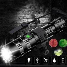 Super Bright L2 Led Torch Rechargeable LED Police Flashlight Camp Light Lamps