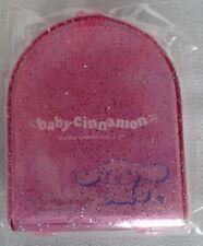 Vintage sanrio 2002 baby cinnamon mini plastic memo case brand new & sealed