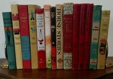 14 Vintage CHILDREN'S LITERATURE Books Instant Library Decorative 1938-1976 Prop