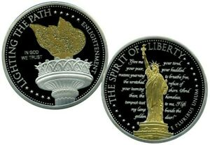 ENLIGHTENMENT COMMEMORATIVE COIN PROOF LUCKY MONEY VALUE $129.95
