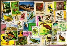 Birds on Stamps - 50 Different