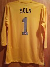 Nike USA US Soccer USWNT 2013 Centennial Goalkeeper Jersey Hope Solo #1 Size WL