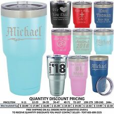 Custom Engraved Vacuum Insulated Tumblers Best Man Birthday Boss Husband Gifts