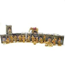 """1992 Fontanini Heirloom Nativity 5"""" Collection 21 Piece Set With Original boxes"""
