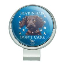 Boykin Hair Don't Care Dog Golf Hat Clip With Magnetic Ball Marker