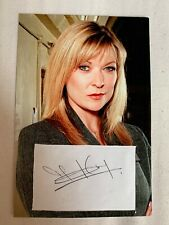 Signed Bad Girls Star Claire King A6 Photo