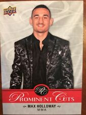 2017 UD National Card Convention Prominent Cuts PC- 7 Max Holloway NSCC Promo