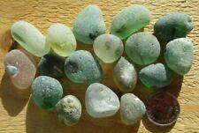 17 Genuine English Seaham Sea Glass Pieces