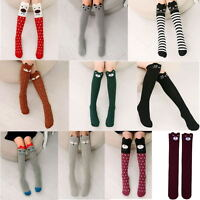 Baby Kids Girls Knee High Socks Tights Leg Warmer Stockings For Age 3-12 Lw